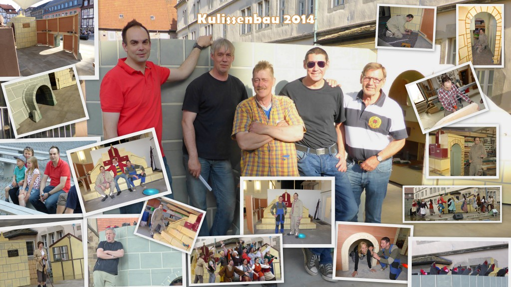 Kulissenbau 2014